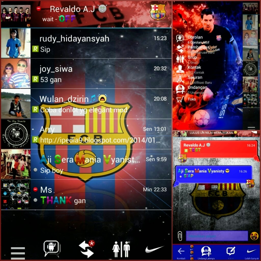 Free Download Kumpulan Aplikasi BBM Mod APK 2014 For Android Gratis