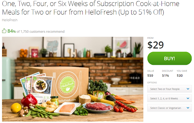 hello fresh groupon deal
