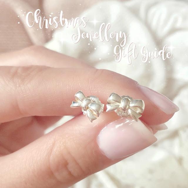 Christmas Jewellery Gift Guide | Thomas Sabo Silver Bow Earrings, Mococo