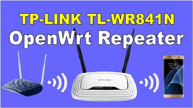TL-WR841N V9 OPENWRT REPEATER