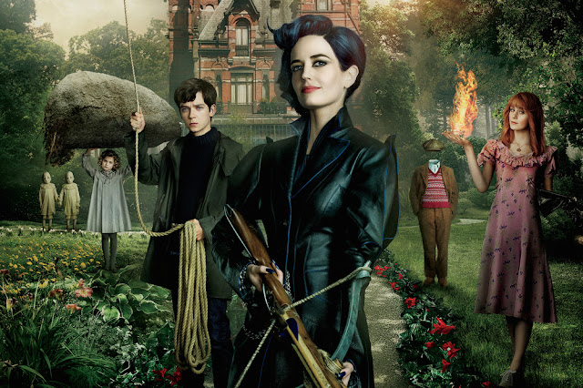 Tim Burton, Eva Green, Asa Butterfield, Samuel L. Jackson, CINE ΣΕΡΡΕΣ, Miss Peregrine's Home for Peculiar Children (2016)