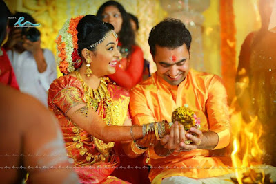 Classmates movie actress Radhika marriage photos