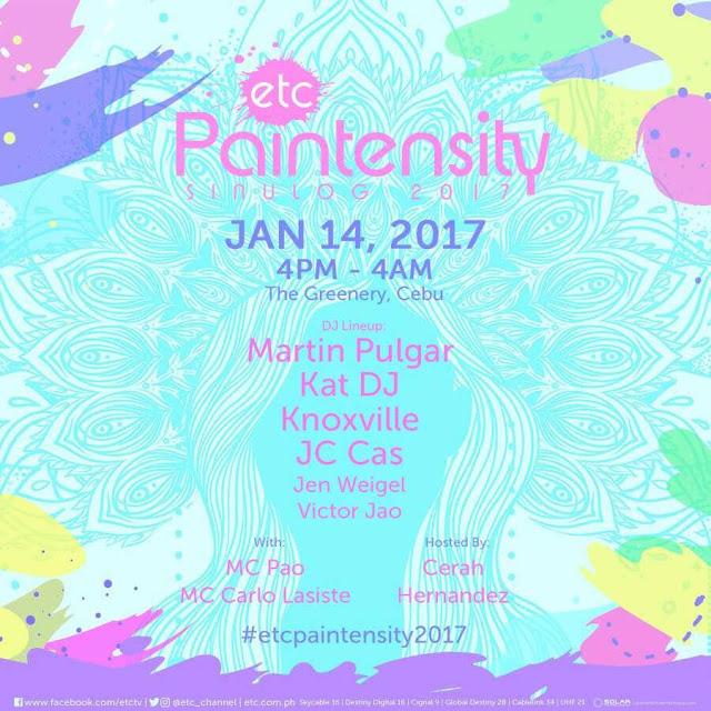 Paintensity 2017 DJs Line up