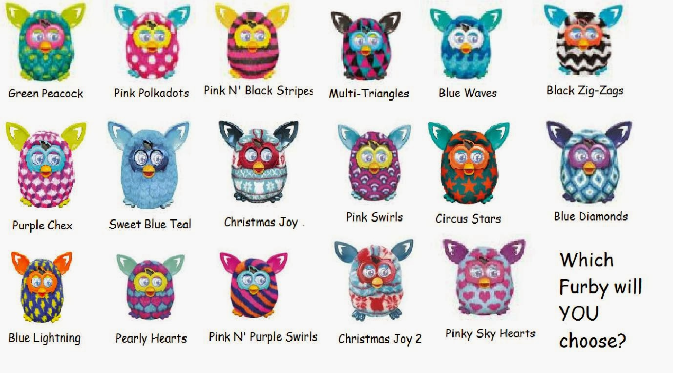 The gallery for --> Furby Colors 2012