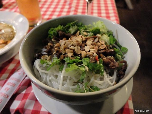 bo bun boeuf vietnam little hanoi hoi an presquile
