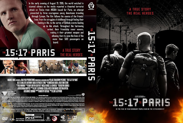 The 15:17 to Paris DVD Cover