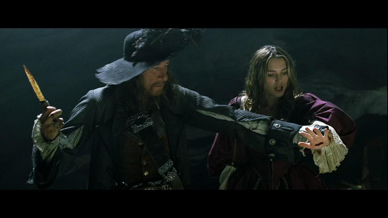 Piratas del Caribe: La Maldición del Perla Negra (2003) BRRip HD 720p Latino - Ingles captura 4