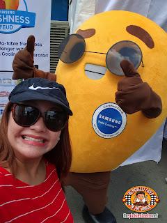 Samsung Twin Cooling Refrigerator, mango mascot