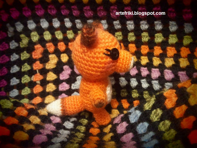 zorro amigurumi crochet ganchillo fox animal doll muñeco peluche