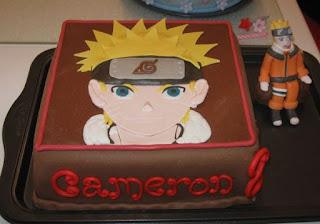 kue ulang tahun naruto yang keren