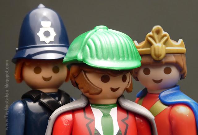 Playmobil Sherlock Holmes El principe de Beukelaer Bobby Playpeople