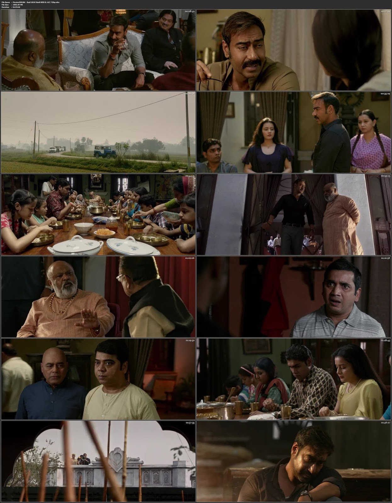 Raid 2018 Hindi Full Movie ACC X264 WEB DL 720p at movies500.info