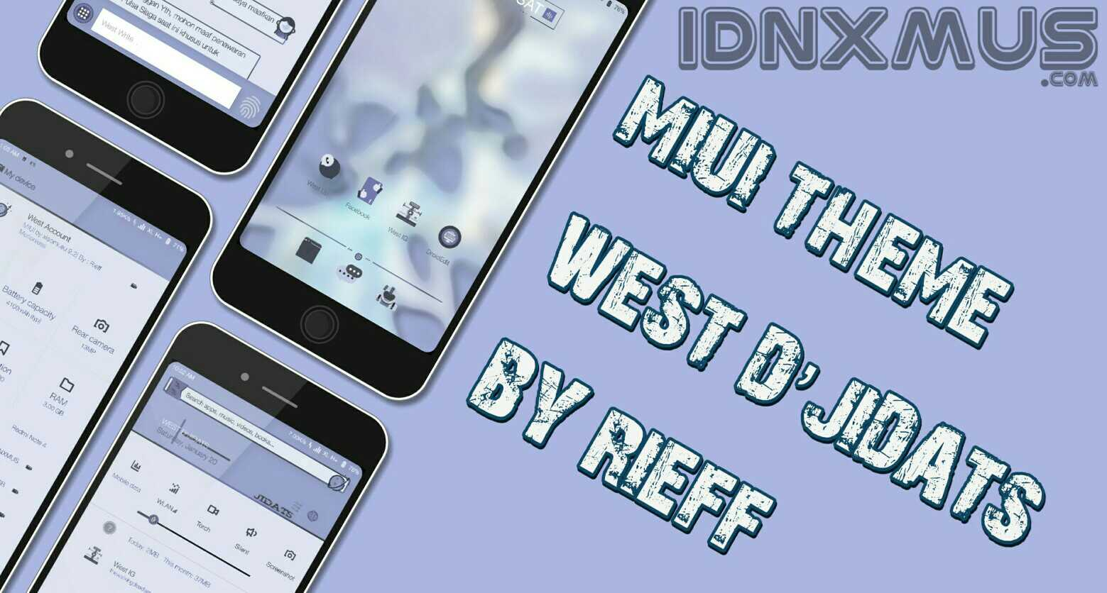 MIUI Theme West D'Jidats