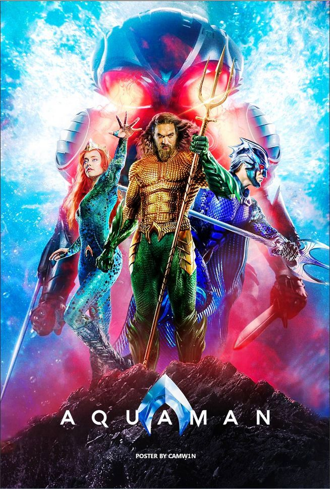 Aquaman 2018 Full Movie In Hindi 720p Bluray 1GB Download