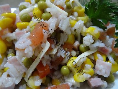 Sałatka z ryżu 2