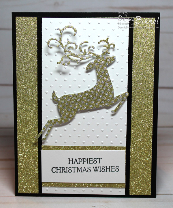 Danni S Dreams Gold Happiest Christmas Wishes