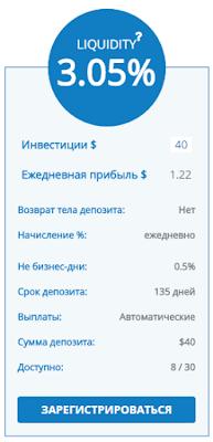 Открыли тариф Liquidity в хайпе millarifinance.com