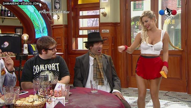 Noelia Marzol hot legs and big tits cleavage damageinc videos HD