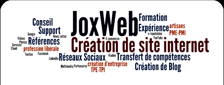 Joxweb : création de site internet