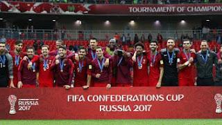 Video Gol Portugal vs Meksiko 2-1 Juara III Piala Konfederasi 2017