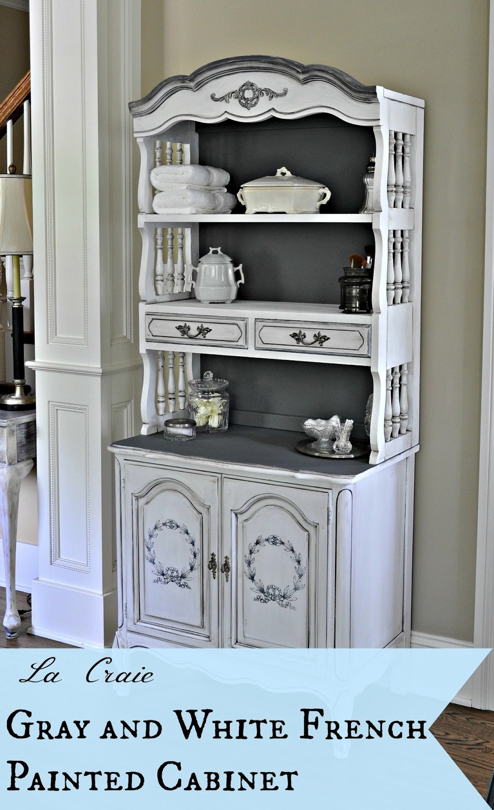 Serendipity Refined Blog Before And After La Craie Gray And White