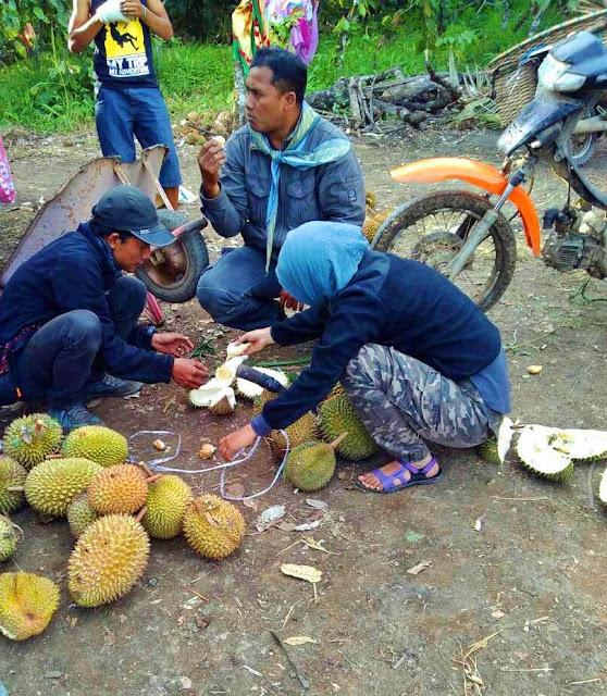 makan durian