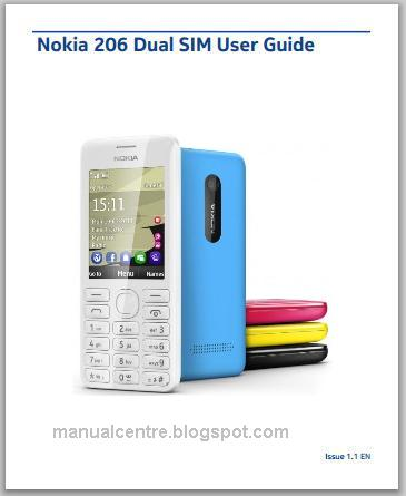 Nokia Asha 206 Manual Cover