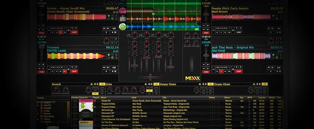 Δωρεάν πρόγραμματα dj: μίξη μουσικής