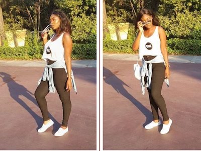 Meraiah Ekeindethe Daugher of Omotola Stuns In New Photo