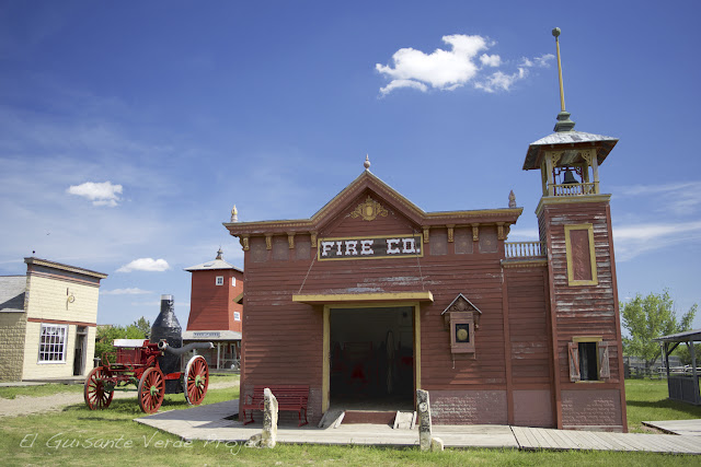 1880 Town - Dakota del Sur, Bomberos