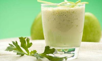 Suco de Berinjela com Limão