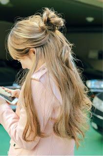 model gaya rambut korea keenam