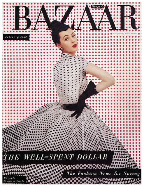 copertina pois harper's bazaar copertine giornali vintage