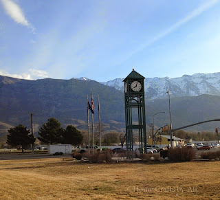 Pleasant Grove Utah Clock Tower