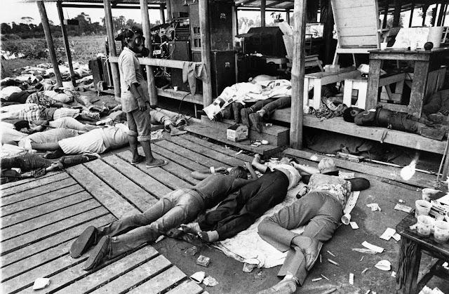 horrible photos from the 1978 jonestown massacre the