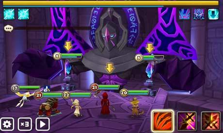 Gameplay Summoners War: Sky Arena