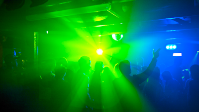 Drugged-Up Clubber Suddenly Realizes She's In Church Worship Service
