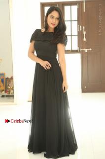 Actress Miya George Latest Po Gallery in Black Gown  0306.JPG