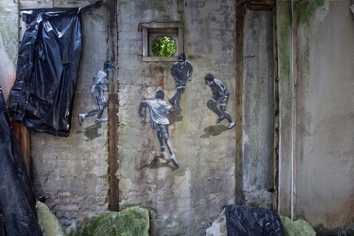 Стрит арт художник. Anders Gjennestad (стрит арт)