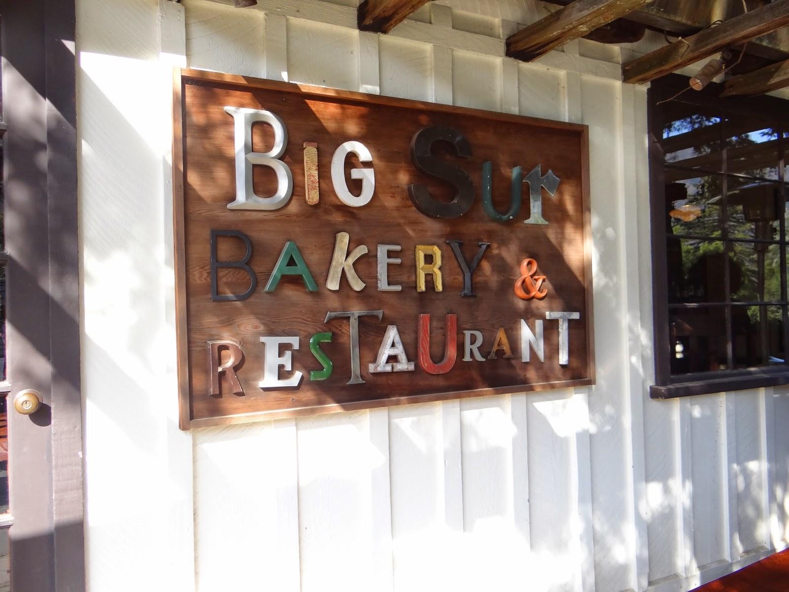 Big Sur Bakery