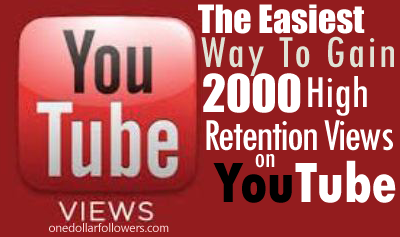 2000 Youtube Views
