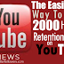 Buy 2000 YouTube Views For $1 [High Retention Views]