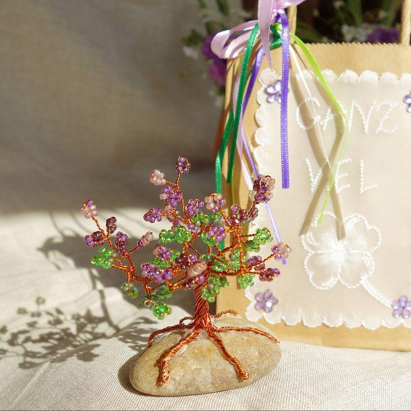 Geschenke aus Draht selber machen, Geschenkideen, Gluecksbringer basteln, Gluecksbringer selber basteln, Gluecksbaum basteln, Gluecksbaeumchen basteln,