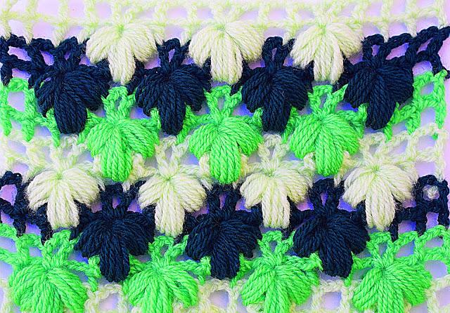 Imagen de puntada verde a crochet y ganchillo Majovel crochet 3
