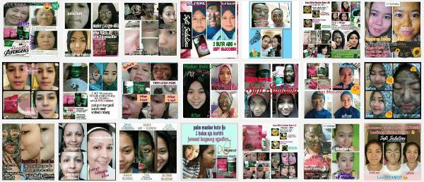 Masker Buto Ijo Moment Membuat Wajah Menjadi Cantik & Bersih