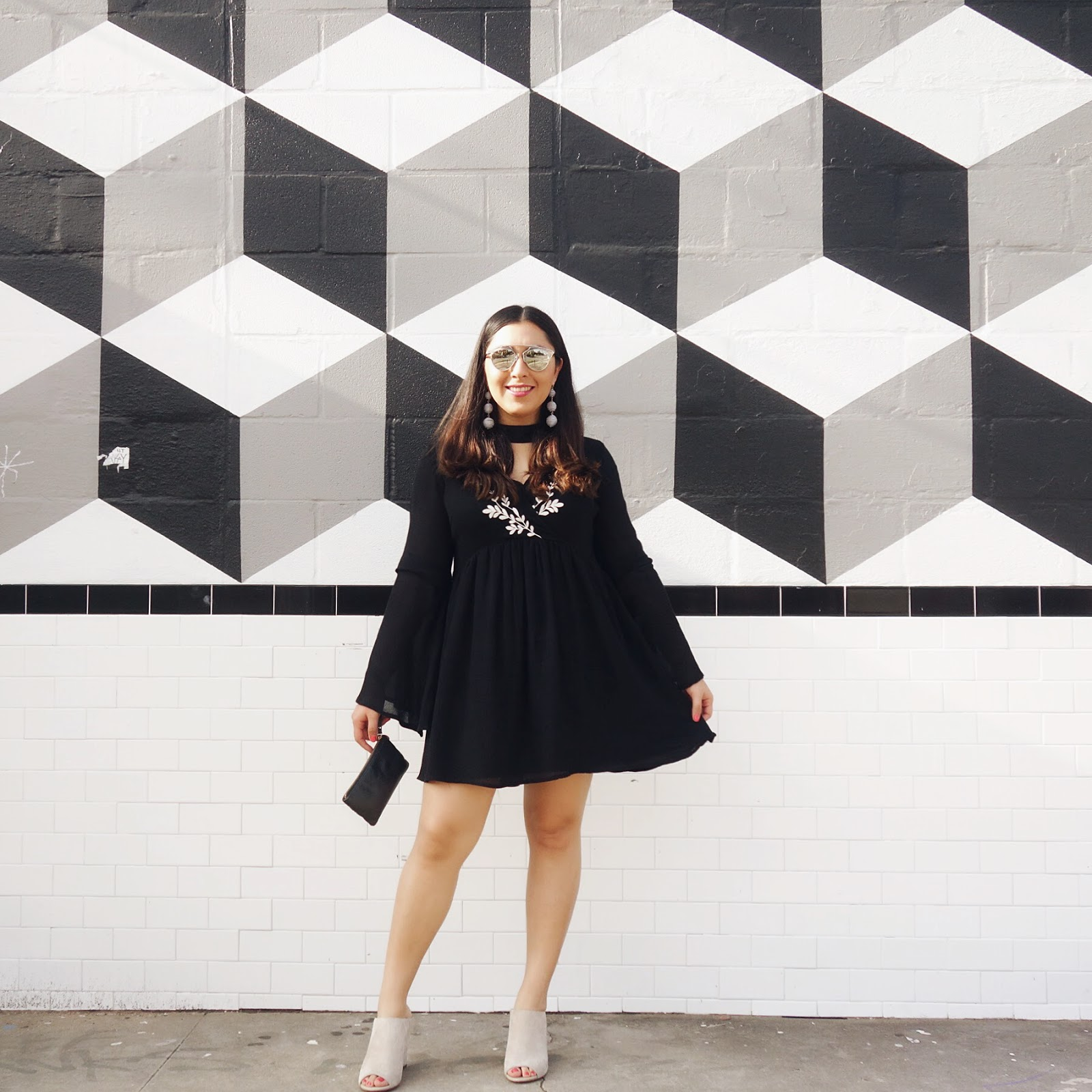 Black Choker Neck Dress, Choker Neck Dress, Featured, Steal, Little Black Dress, LBD