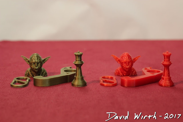 results of different 3d printer filament, material, opinion, cost