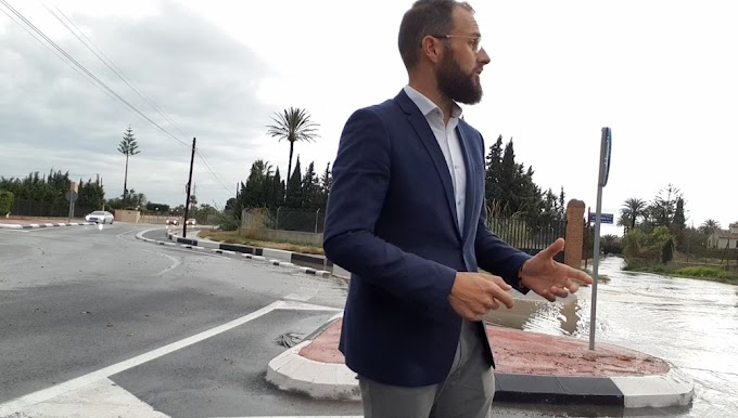 """Sempere: """"Desde hace más de 30 años los vecinos afectados del barranco de San Antón sufren las consecuencias de un problema que ningún gobierno ha querido atender"""""""