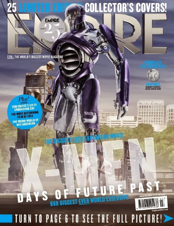 Empire covers X-Men: Days of Future Past: Centinela