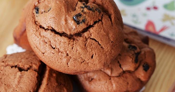 Bake for Happy Kids: Dried Cherry Chocolate Muffins (William Sonoma)